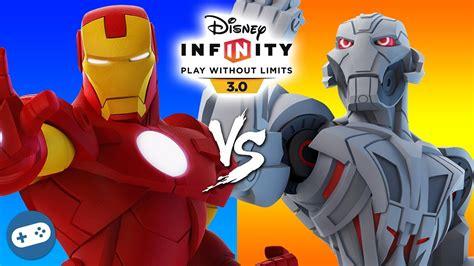 iron man ultron marvel battlegrounds disney infinity