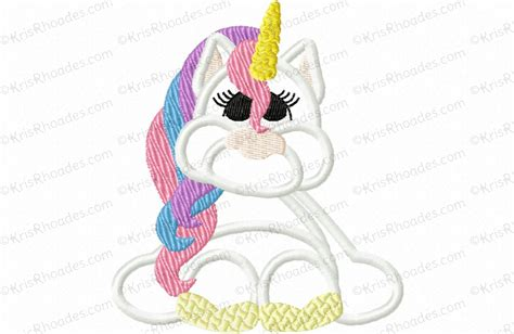 embroidery design unicorn unicorn applique embroidery design kris rhoades