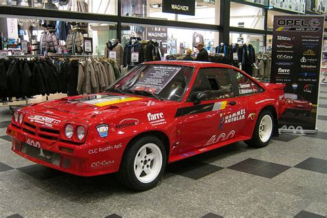 One Car Garage opel manta 400 this one was build in 1983 i took my