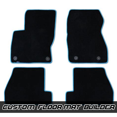Ford St Floor Mats by Ford Focus Rs St Custom Fitted Velourtex Floor Mats