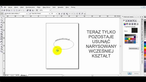 how to curve text in coreldraw x6 tekst na krzywej corel text on a curve corel youtube