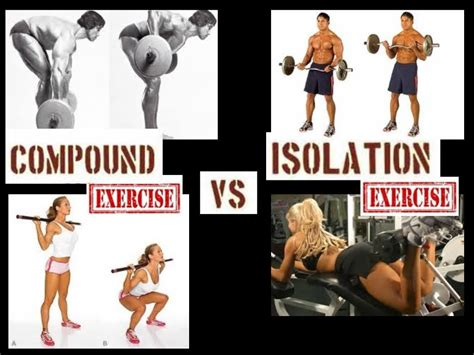 workout compound exercises vs isolation exercises for flat stomach