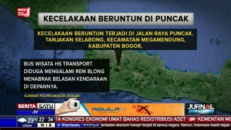 Kronologis Kecelakaan by Kronologis Kecelakaan Beruntun Di Puncak Bogor