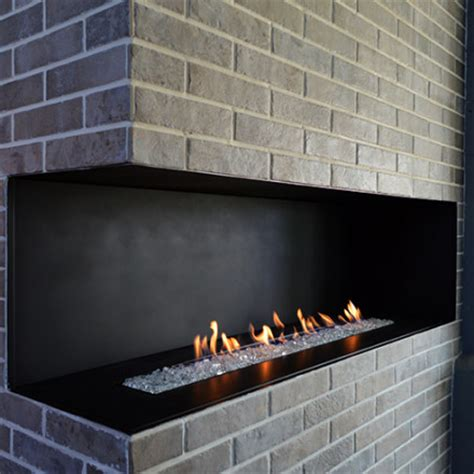h series modern vent free open corner gas fireplace