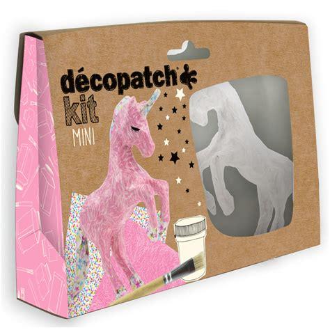 Decoupage Kits - decopatch decoupage mini kit unicorn
