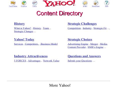 Mba In Ecommerce In Usa by 2002 Mendoza Mba E Commerce Class Presentation On Yahoo