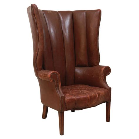 Brown Wingback Chair x jpg