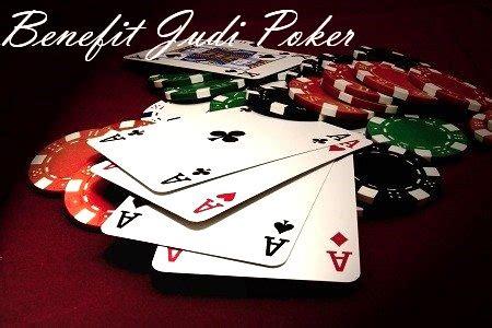kelebihan game poker    dimainkan secara rutin