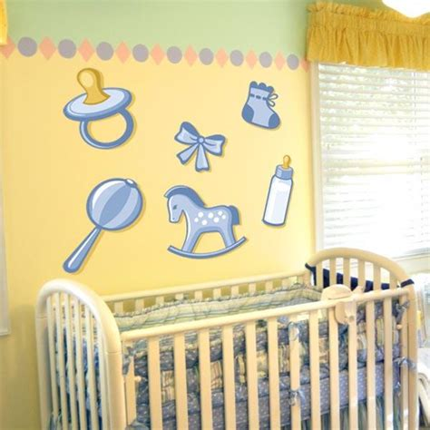 Wall Stickers For Baby Boy Nursery Thenurseries Nursery Wall Decals For Baby Boy