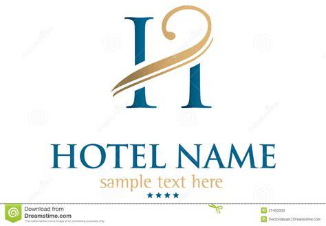 free hotel logo design hotel name stock photo image 31452000