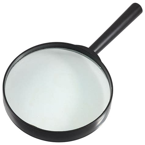 Kaca Pembesar 100mm Loupe Magnifying Glass Magnifier Limited thgs new plastic black handle 100mm dia loupe 5x magnifier in magnifiers from tools on