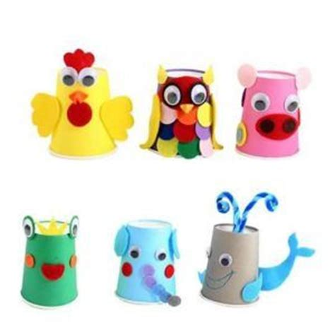 Paper Cup Animals Craft - 25 best ideas about paper cup crafts on