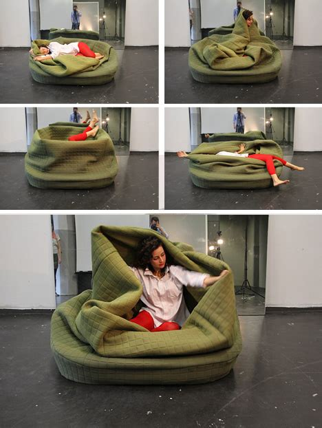 Bean Bag With Blanket self snuggling 7 cozy wrapping seats