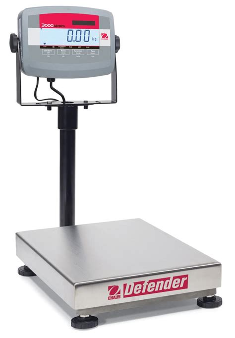 ohaus bench scale ohaus defender 3000 bench scale brady systems
