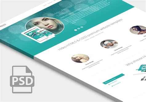 design free download psd premium website home page template psd download download psd