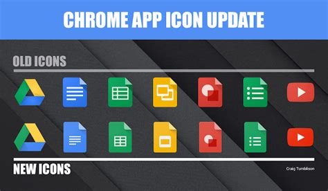 material design icon excel google s chrome apps updated with material design icons
