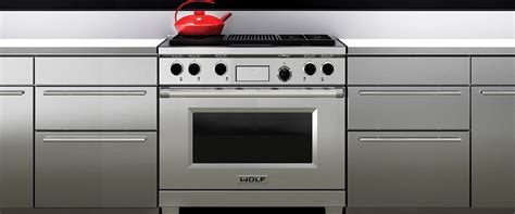 stoves wolf stoves 914mm dual fuel range with charbroiler dual fuel range wolf