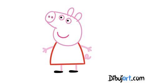 imagenes para dibujar de peppa peppa pig colouring page