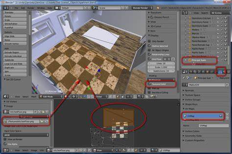 unity editor layout texture materials and textures from blender to unity 3d