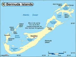 Bermuda World Map by Bermuda Political Map By Maps Com From Maps Com World S