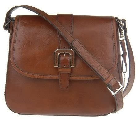 Aigner Cynthia 001 Leather etienne aigner leather crossbody buckle bag w adj page 1 qvc
