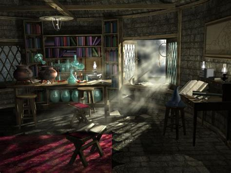 room fantasies wizard s study by williams