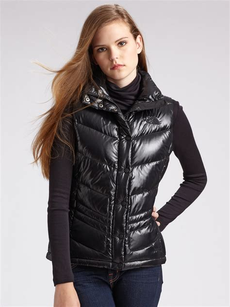 puffer vest the quilted puffer vest in black lyst