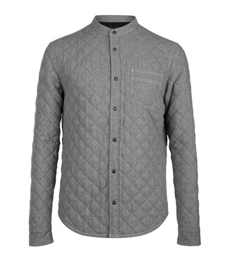 Quilted Shirt Mens by Allsaints S Shirts Exclusive New Designs For