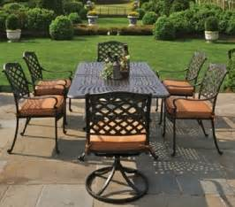 cast aluminum patio furniture berkshire by hanamint luxury cast aluminum patio furniture
