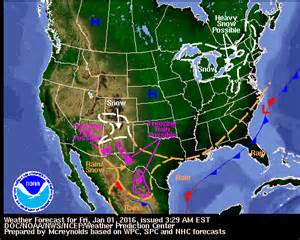 us morning forecast map wpc daily forecast map archive