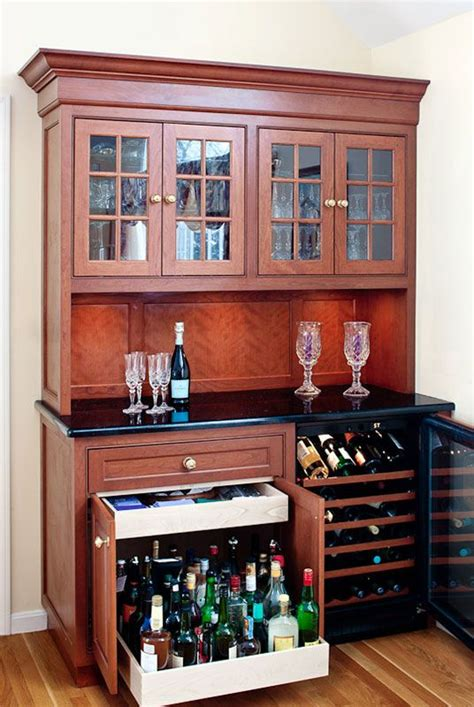 locking bar liquor storage cabinet love the pull out cabinet for heavy liquor bottles and