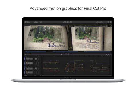 final cut pro h 265 motion on the mac app store