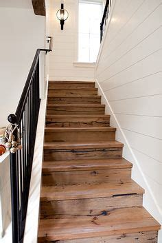 shiplap on stairs shiplap staircase google search flooring ideas