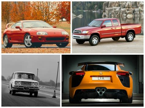 Where Are Toyota Cars Made The 15 Greatest Toyota Vehicles Of All Time Feature