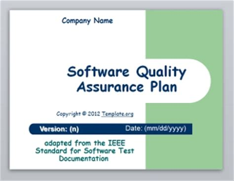 Software Test Plan Template Template Org Software Testing Ppt Templates Free