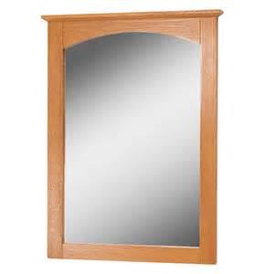Oak bathroom mirror wayfair