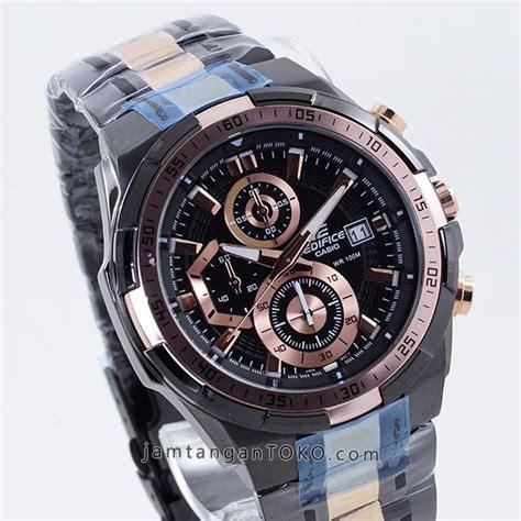 Jual Jam Tudor Grantour Chronograph Black Best Clone 1 harga sarap jam tangan edifice efr 539bkg 1av black gold