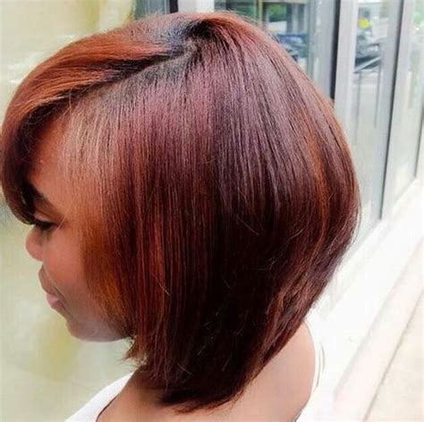 inverted bob plus size woman 2017 inverted short bob hairstyles for black women