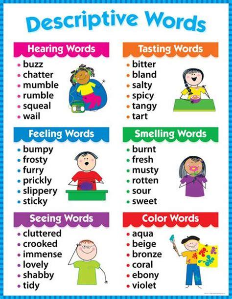 words describing new year descriptive words chart gr 1 3 ctp4171
