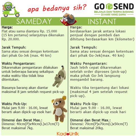 Grab Sameday Tidak Bisa plih go send instant atau sameday