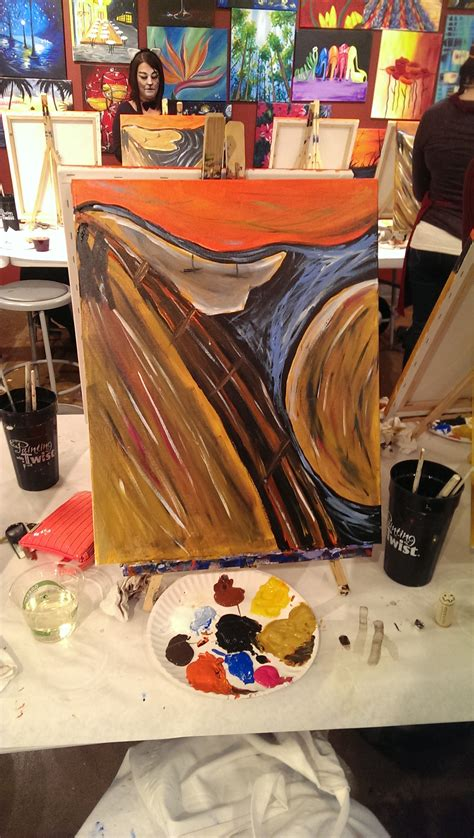 bob ross painting with a twist get your bob ross on byob to painting with a twist