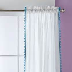 Pom Pom Trim Curtains Birch Pom Pom Trim Curtains Reviews Birch
