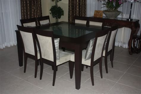 Square Dining Table 8 Chairs 8 Chair Square Dining Table With Regard To Your Own Home Clubnoma