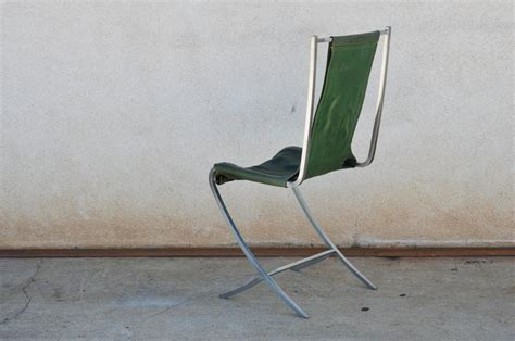 Stainless Steel Chairs For Sale by Set Of Five Stainless Steel Chairs By Maison Jansen For Sale At 1stdibs