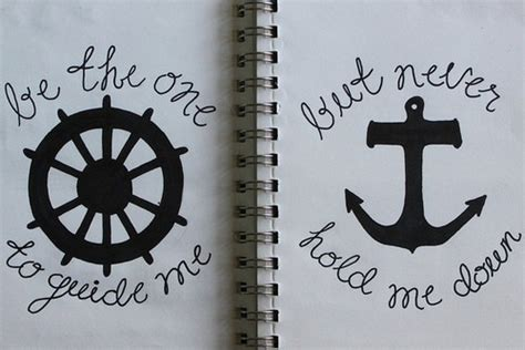 anchor tattoo quotes tumblr anchor quote tattoo ideas yahoo answers