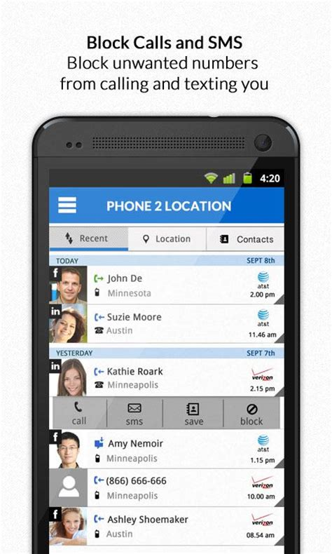 Sms Tracker Phone Number Call Locator App Android Best Cell Phone Software Www