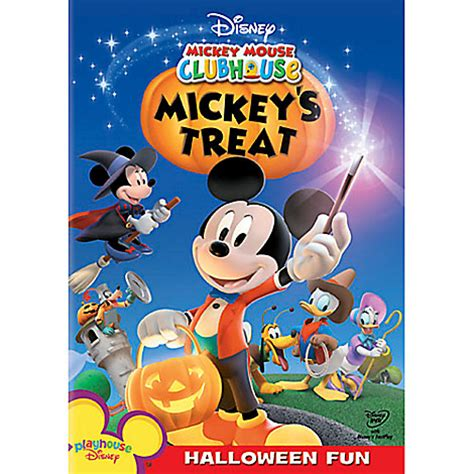 film disney mickey mouse mickey mouse clubhouse mickey s treat dvd disney store