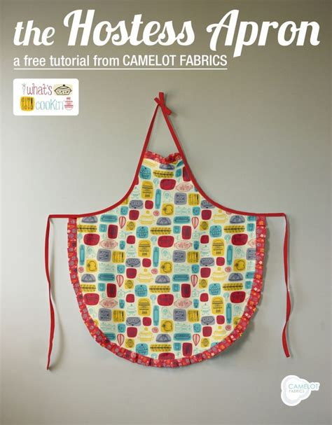 best apron pattern ever free projects hostess apron tutorial what s cookin by