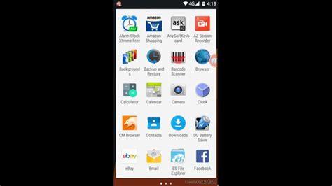 remove white background  lollipop app drawer