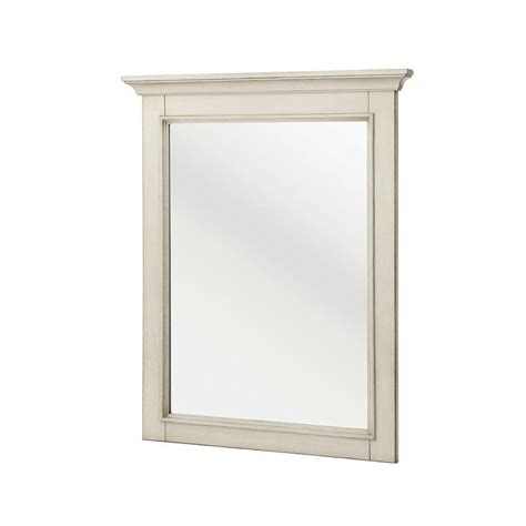 home decorators collection mirrors home decorators collection highclere 36 in x 33 in wood framed single wall mirror in white